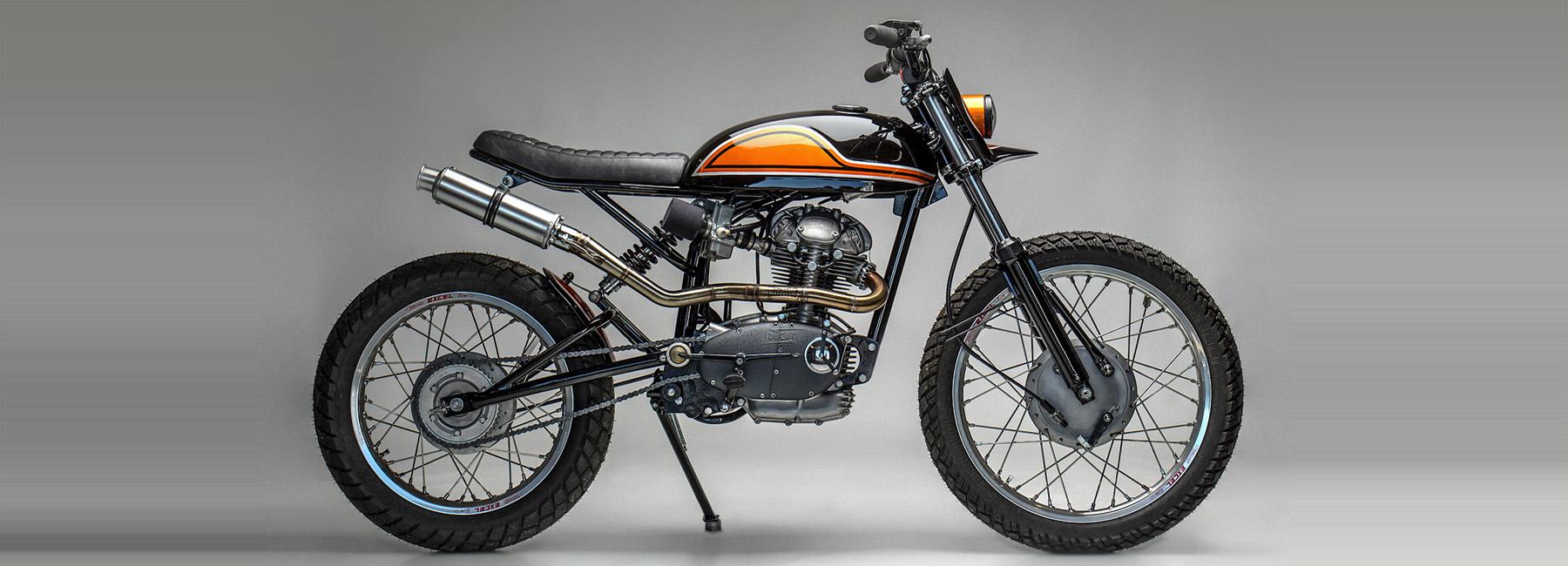 Ducati 250 custom scrambler