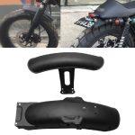 1-Juego-de-Protector-de-guardabarros-delantero-trasero-de-Metal-negro-para-motocicleta-compatible-con-modificaci-1
